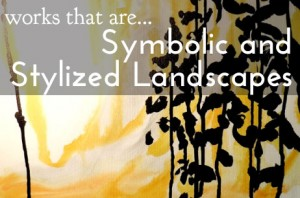 Works that are symbolic and stylized landscapes - banner
