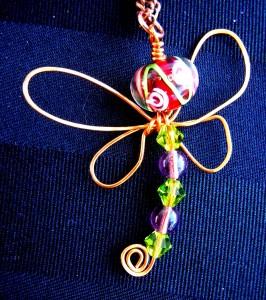 Dragonfly Pendant #7